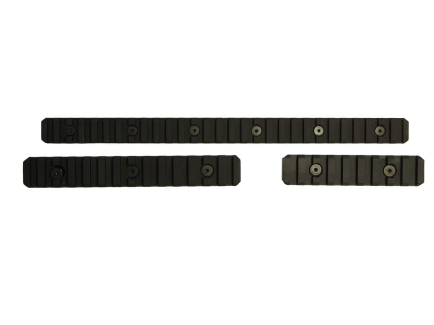 "TACMOD 1913 Modular Picatinny Rail Kit 1-Long 12"", 1-Medium 6"", and 1-Short 3"""