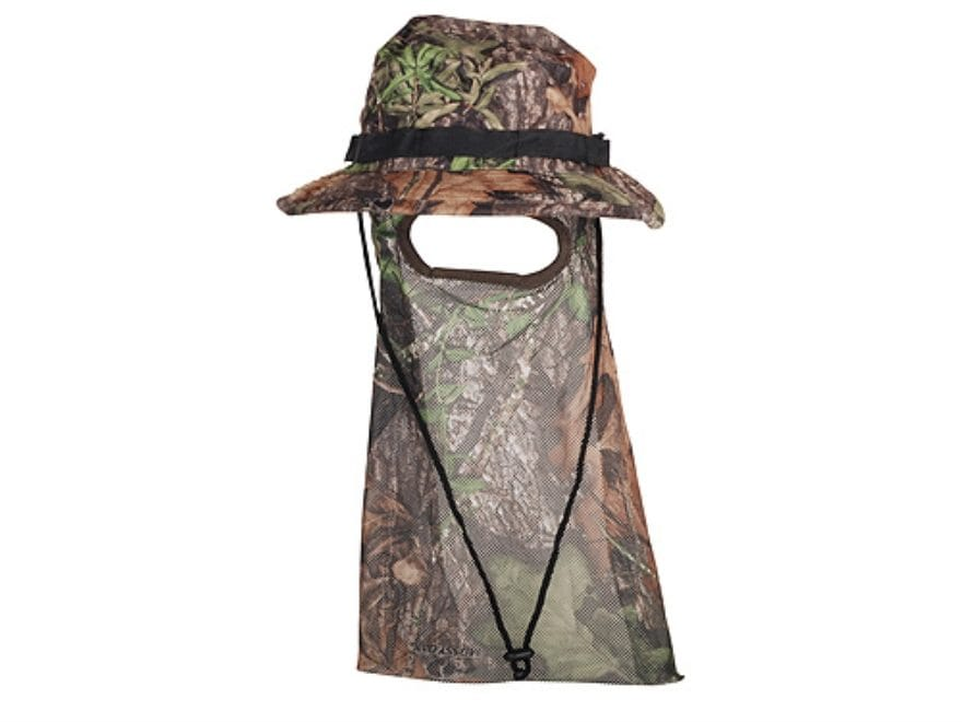 Ol  Tom Boonie Hat with Mask Polyester Mossy Oak Obsession Camo XL cd8b202ca63f
