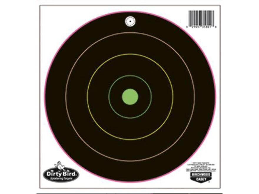 Birchwood Casey Dirty Bird Multi-Color Bullseye Target