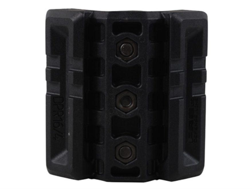 FAB Defense Dual Picatinny Rail Attachment for Standard AR-15 Handguards Polymer Black