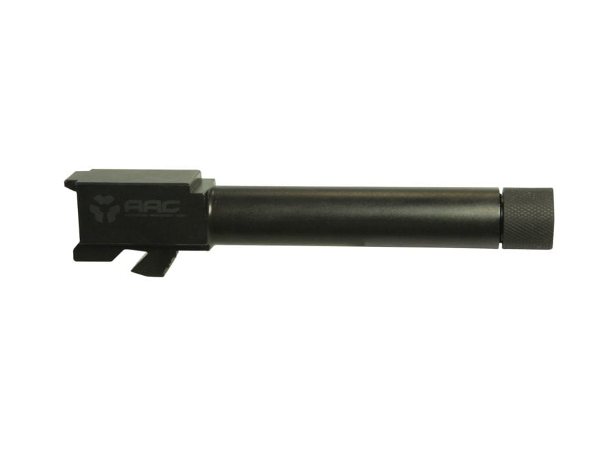 """Advanced Armament Co (AAC) Barrel Glock 19 9mm Luger 4.53"""" Stainless Steel Black Isonit..."""