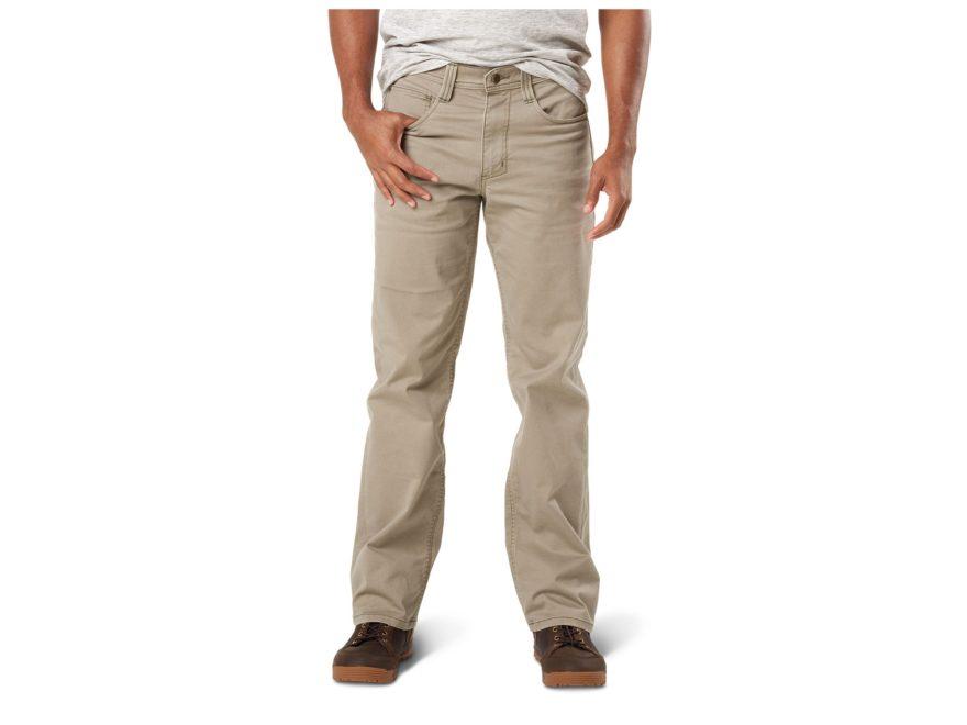 5.11 Men's Defender-Flex Straight Leg Tactical Pants Cotton/Polyester Blend