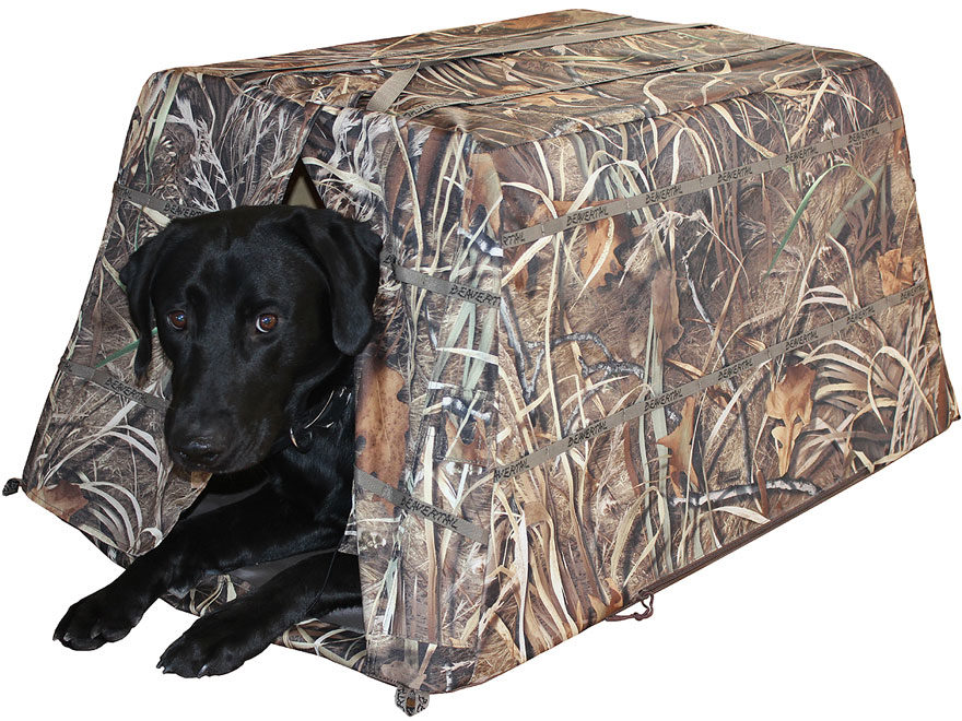 Beavertail Dog Blind 600D Fabric Swamper Camo