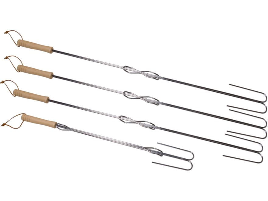 Camp Chef Extendable Safety Roasting Stick Pack of 4