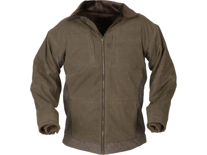 Avery Men's Heritage Collection Full Zip Sweater Cotton/Poly Brown