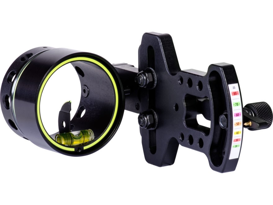 "HHA Sports Optimizer Lite 5500 1-Pin Bow Sight with Rheostat Scope .029"" Pin Diameter R..."