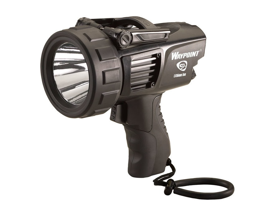 Streamlight Waypoint Spotlight Lithium Ion Rechargeable Battery with AC Charging Holder