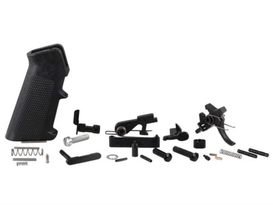 Del-Ton AR-15 Enhanced Lower Receiver Parts Kit with Two Stage Combat Trigger Assembly