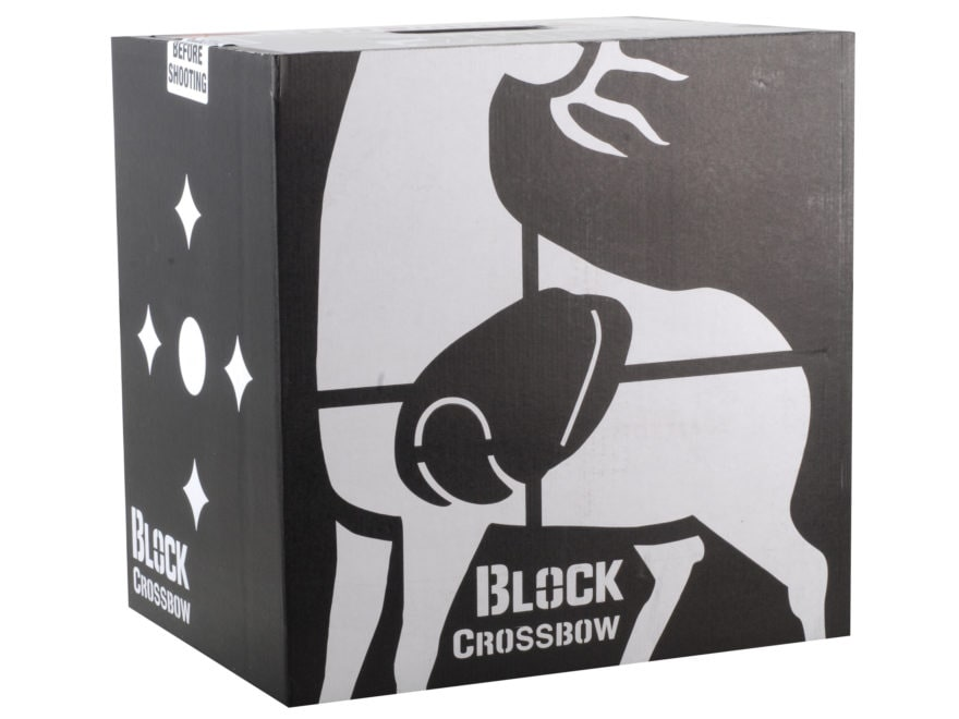 Block Targets Black CB-16 Layered Crossbow Archery Target