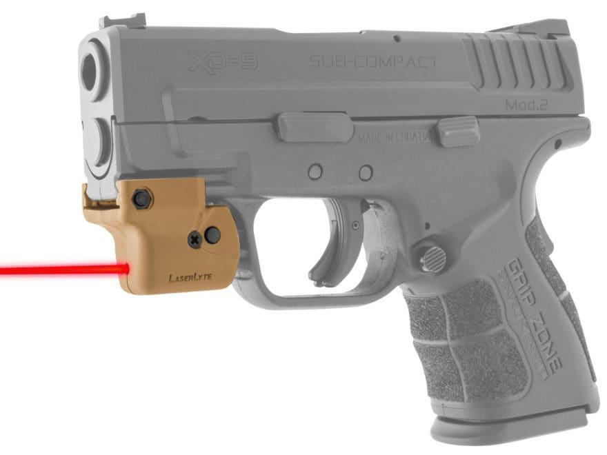 LaserLyte Lyte Ryder Red Laser Sight with Universal Rail Mount Polymer