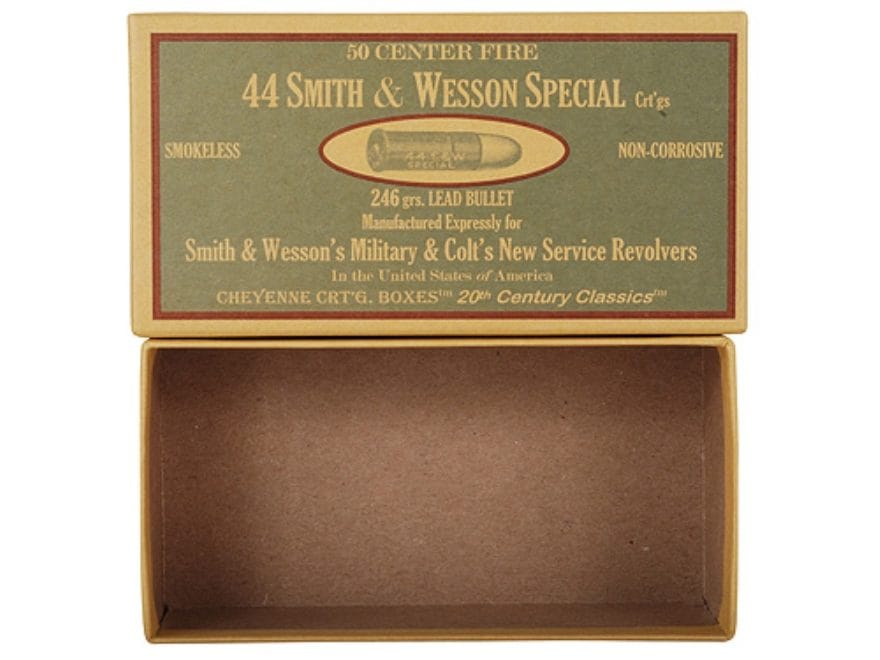 Cheyenne Pioneer Cartridge Box 44 Special Chipboard Pack of 5