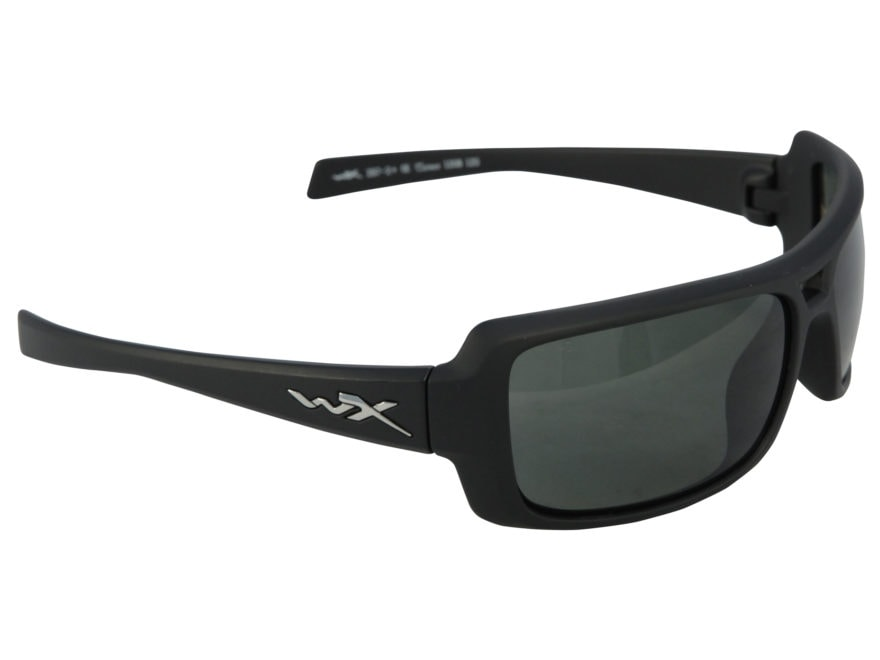 daf611306e Wiley X Black Ops WX Static Polarized Shooting Safety - MPN  SSSTA04