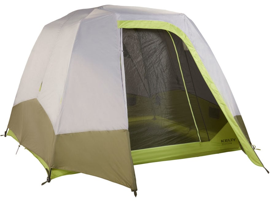 "Kelty Sequoia 6 Person Cabin Tent 112"" x 112"" x 82"" Polyester Ponderosa/Moss/Smoke"