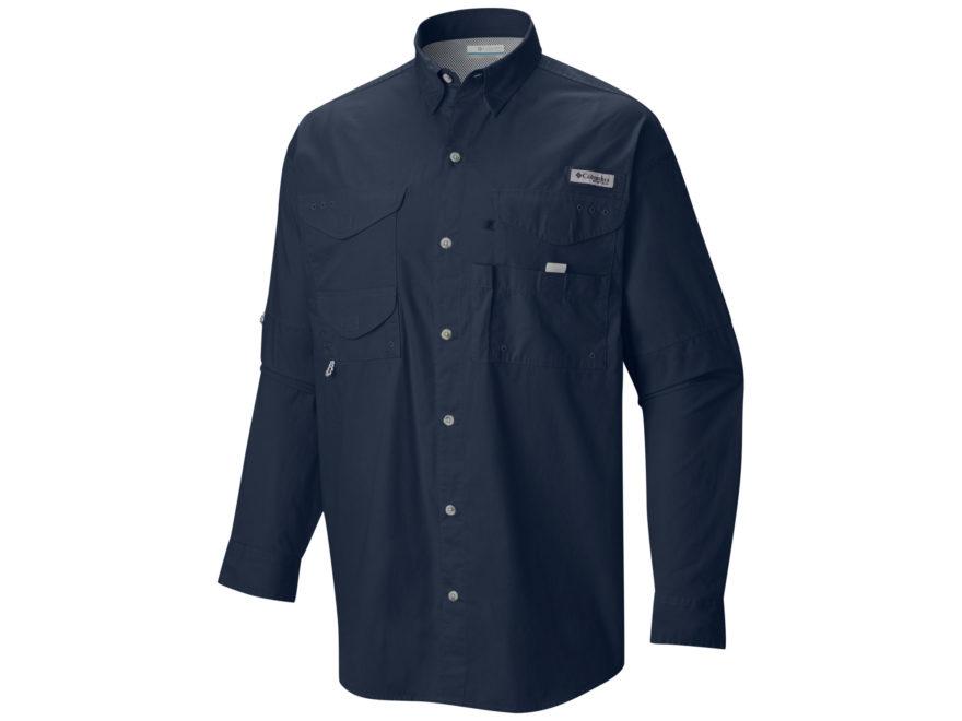 Columbia Men's PFG Bonehead Button-Up Shirt Long Sleeve Cotton