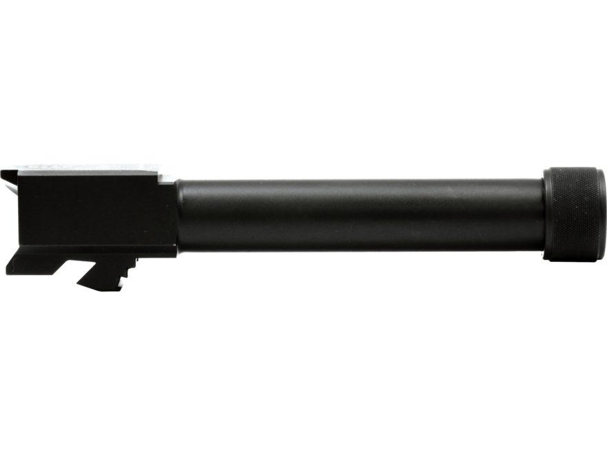 """Swenson Barrel Glock 19 9mm Luger 1 in 16"""" Twist 4.56"""" Stainless Steel Melonite 1/2"""" - ..."""