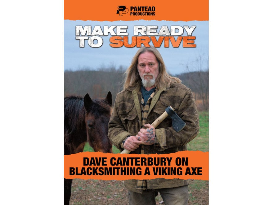 "Panteao ""Make Ready to Survive: Dave Canterbury on Blacksmithing a Viking Axe"" DVD"