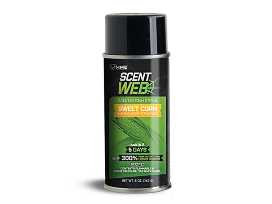 HME Scent Web Foam String Spray Deer Attractant 5 oz Aerosol