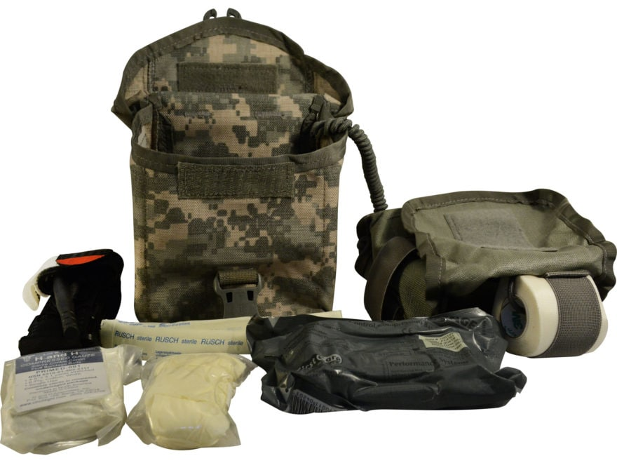 Military Surplus Individual First Aid Kit (IFAK)