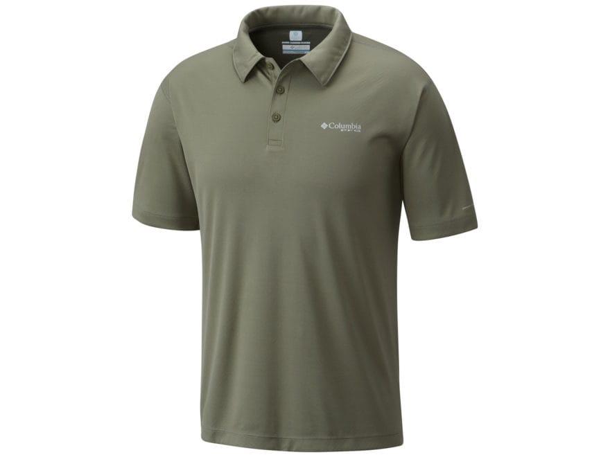 Columbia Men's PFG Zero Rules Polo Short Sleeve Polyester