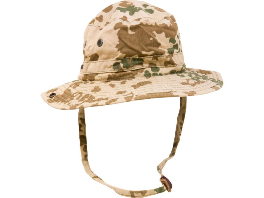 8fa1586956b1f Military Surplus German Boonie Hat Grade 2 Tropical Camo Large