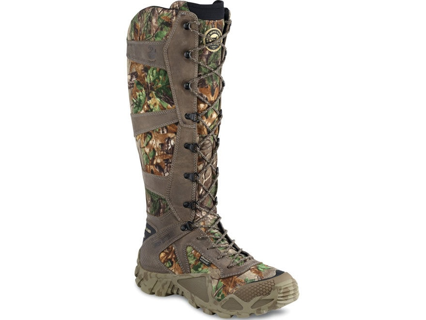 "Irish Setter VaprTrek 17"" Snake Boots Nylon and Leather Men's"
