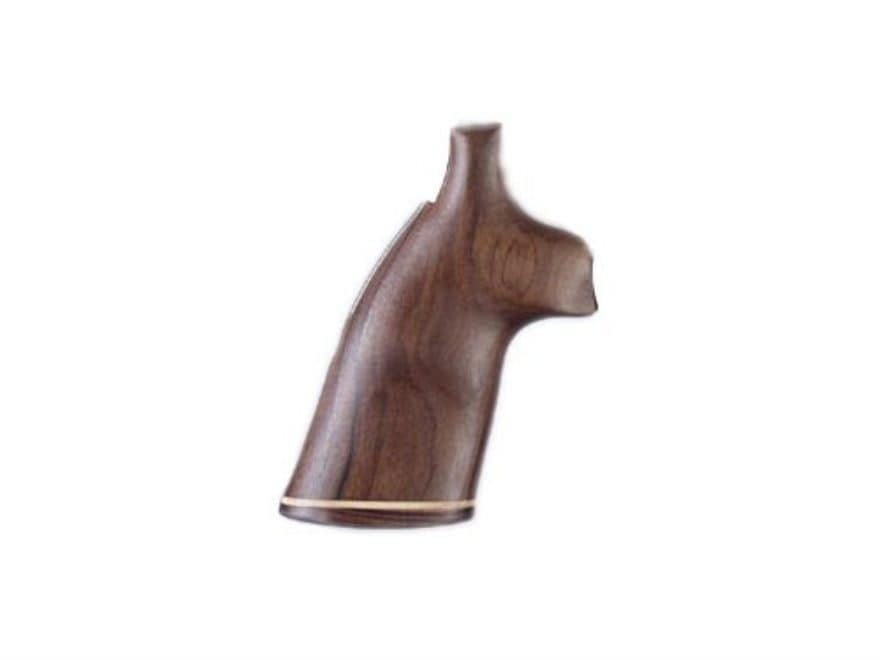 Hogue Fancy Hardwood Grips with Accent Stripe Dan Wesson Small Frame