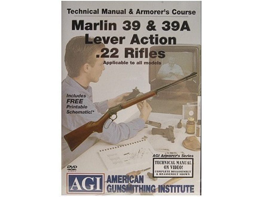 """American Gunsmithing Institute (AGI) Technical Manual & Armorer's Course Video """"Marlin ..."""