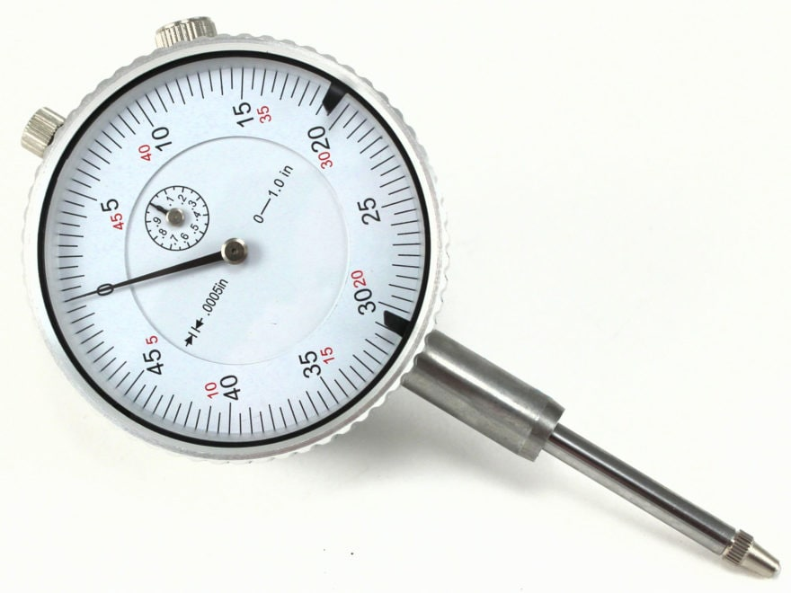 K&M Dial Indicator 50lbs. for Low Force Pack