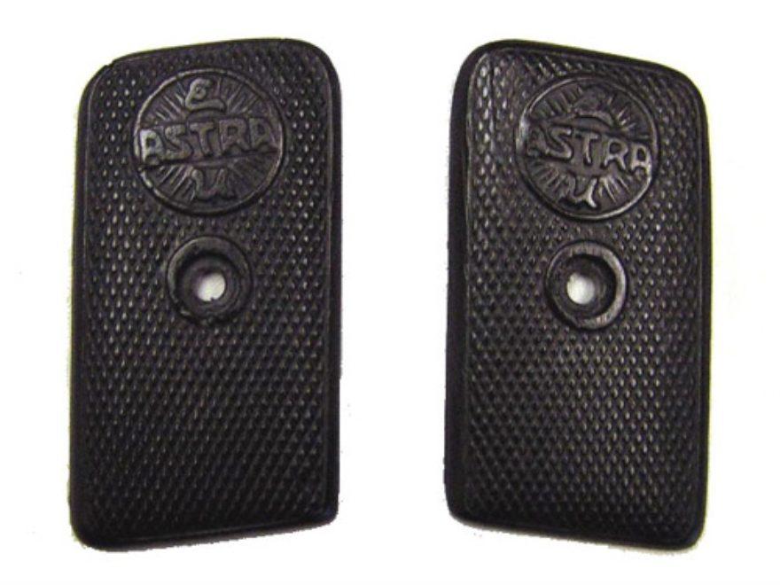 Vintage Gun Grips Astra 1924 25 ACP Polymer Black
