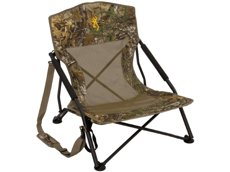 Browning Strutter Low-Profile Chair Realtree Xtra Camo