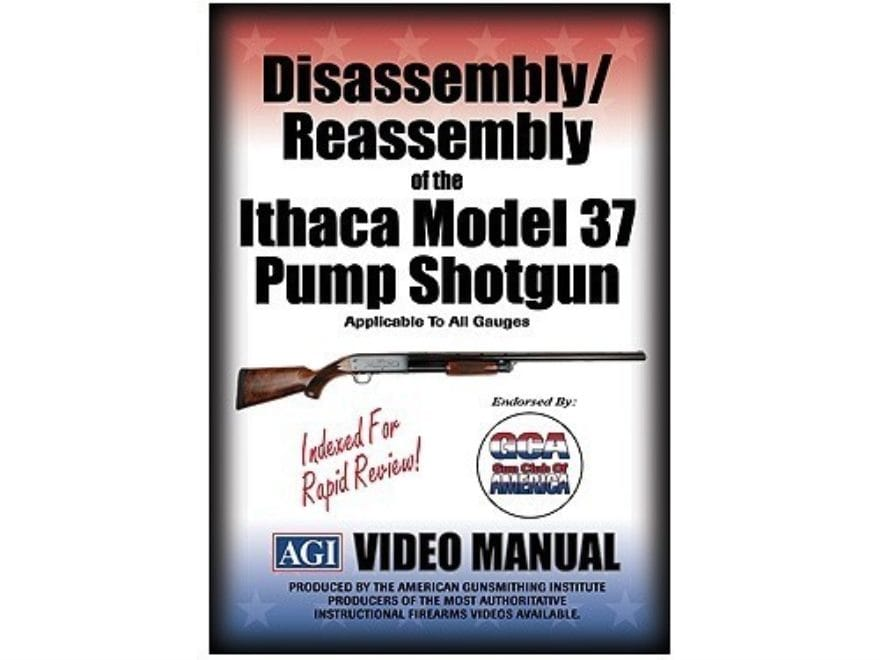 "American Gunsmithing Institute (AGI) Disassembly and Reassembly Course Video ""Ithaca Mo..."