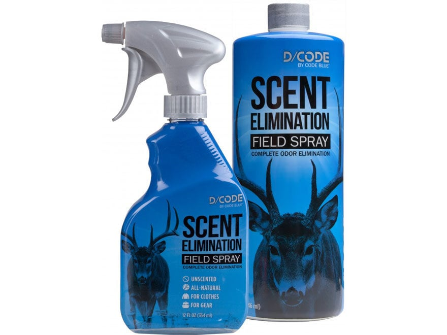 Code Blue D-Code Field Spray Scent Elimination Combo