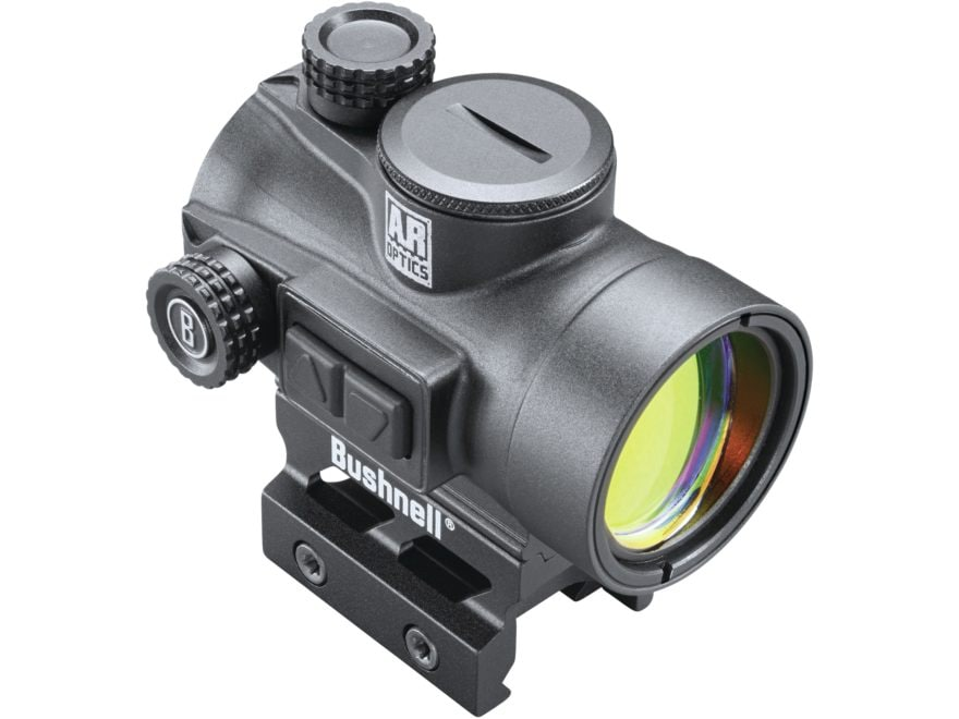 Bushnell AR Optics TRS-26 Red Dot Sight 1x 26mm 3 MOA Dot with Integral Hi-Rise Weaver-...