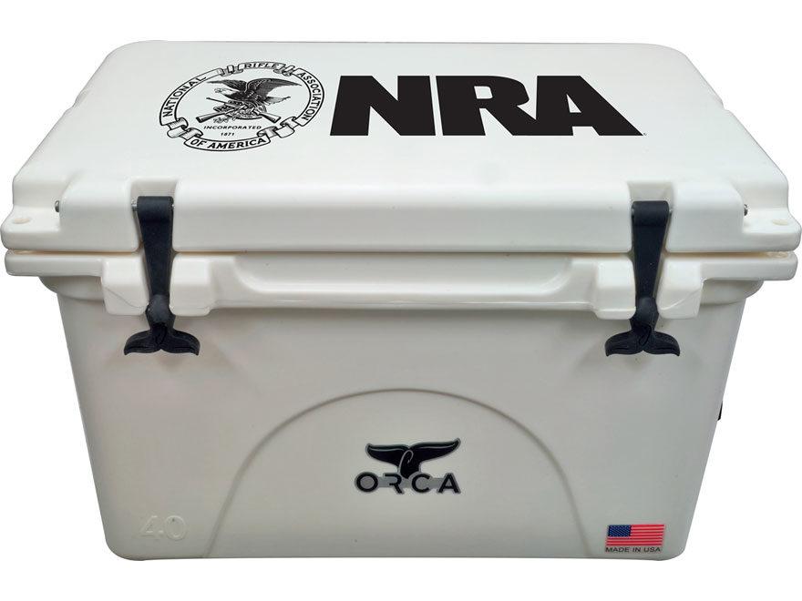 Orca 40 Qt NRA Cooler Polyethylene White