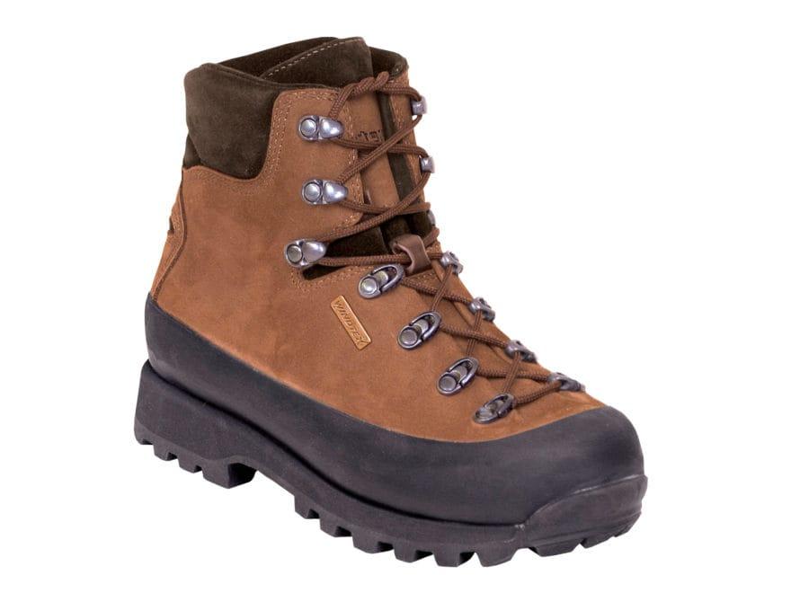 "Kenetrek Hardscrabble LT Hiker 7"" Waterproof Hiking Boots Leather and Nylon Brown Women..."