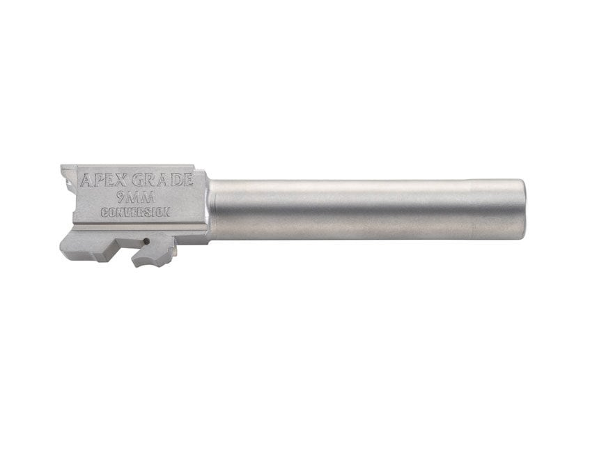 "Apex Tactical Barrel S&W M&P 40 S&W to 9mm Luger Conversion 1 in 10"" Twist 4.25"" Stainl..."