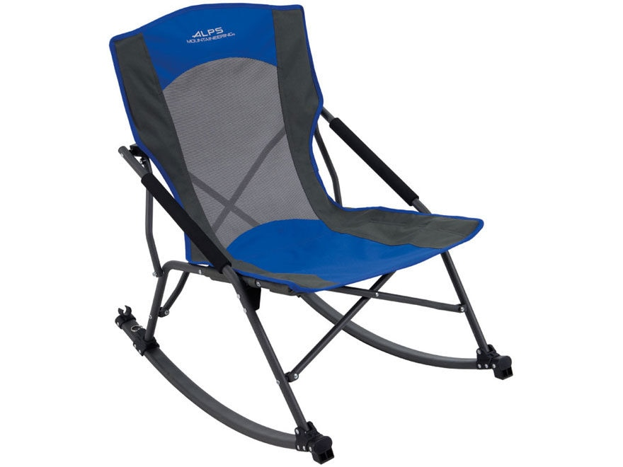 ALPS Mountaineering Low Rocker Camp Chair Blue