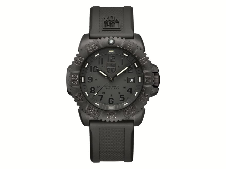 Luminox Navy SEAL Colormark Watch Blackout