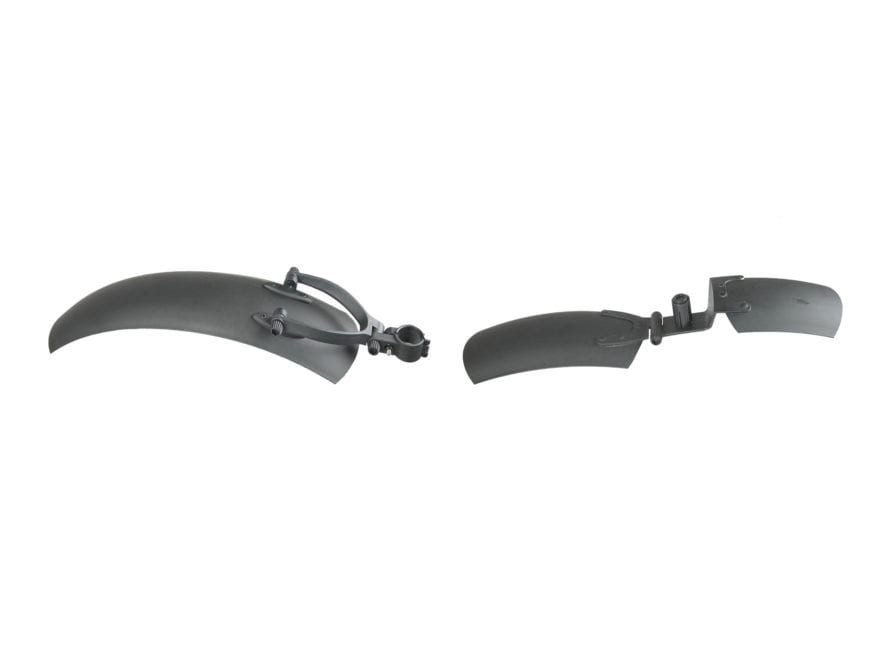 QuietKat Electric FatKat Bike Front and Rear Fenders Polymer Black
