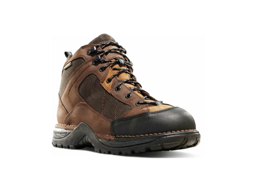 "Danner Radical 452 5.5"" GORE-TEX Hiking Boots Leather/Nylon Coffee Men's"