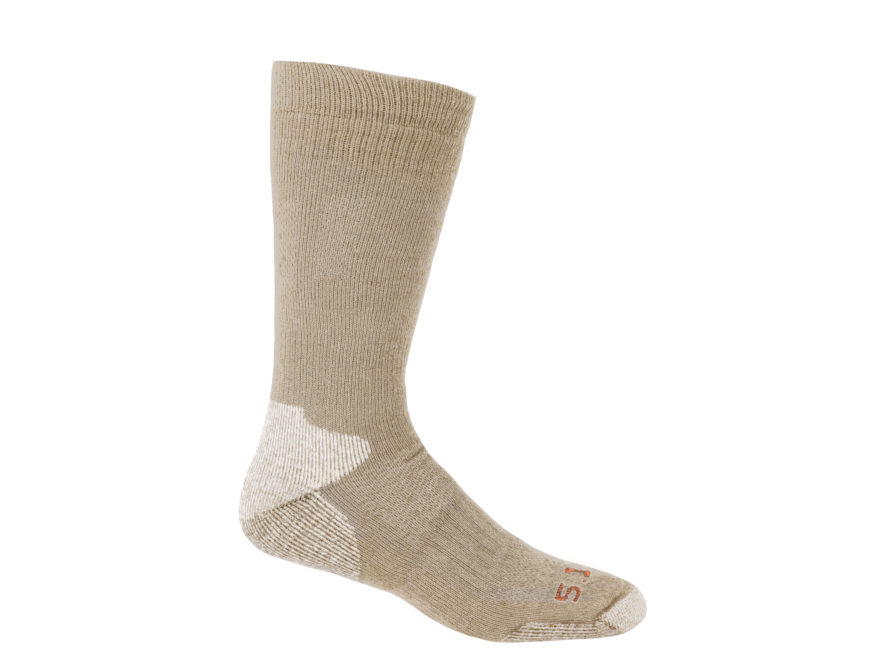 5.11 Men's Cold Weather Over the Calf Socks Cotton 1 Pair