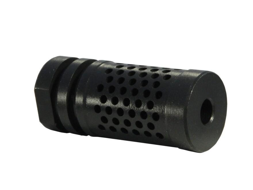 "Schuster ATaC Compensator Muzzle Brake 1/2""-28 Thread AR-15 Matte"