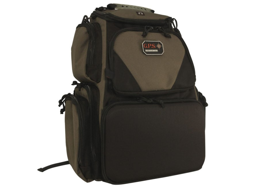 G.P.S. Sporting Clays Backpack Range Bag Olive