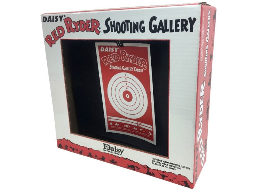 Daisy Red Rider Shooting Gallery Target