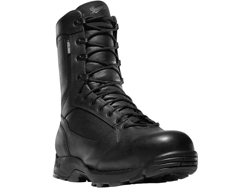 """Danner Striker Torrent 8"""" Side-Zip Waterproof GORE-TEX Tactical Boots All-Leather Black..."""