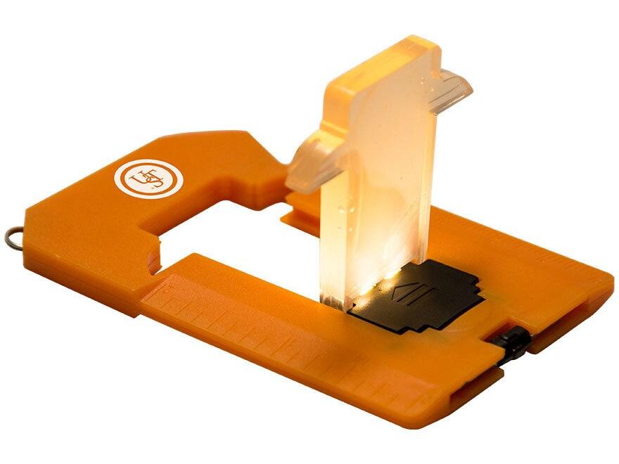 UST Pocket Lantern LED with 2 CR1220 Batteries ABS Plastic Orange