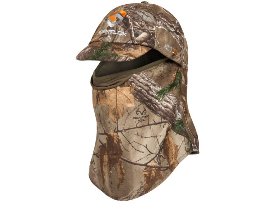 Scent-Lok Full Season Midweight Ultimate Headcover Polyester Realtree Xtra