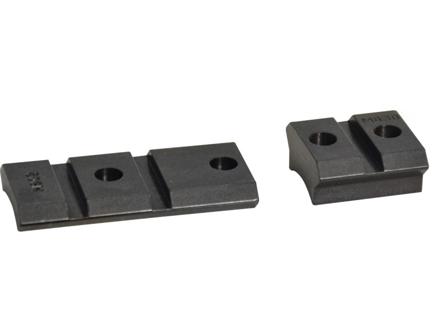 Warne Maxima 2-Piece Steel Weaver-Style Scope Base Mauser FN, Remington 798  Gloss