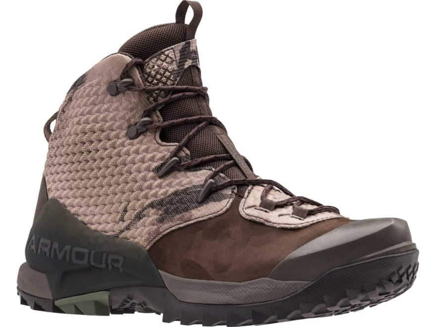 """Under Armour UA Infil Hike GORE-TEX 6"""" Waterproof Hiking Boots Leather Men's"""