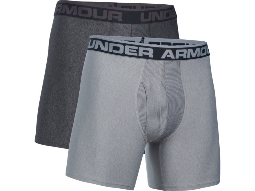 "Under Armour Men's 6"" Original Boxerjock Underwear Pack of 2"